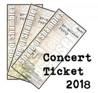 Konzertkarte Shade of Shambles EP Releases 2018